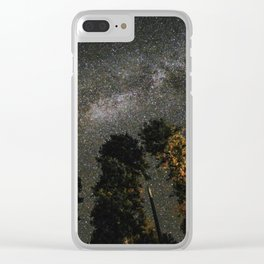 Milky Way Above Sequoia Clear iPhone Case