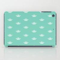 princess iPad Cases featuring Princess by Louise Machado
