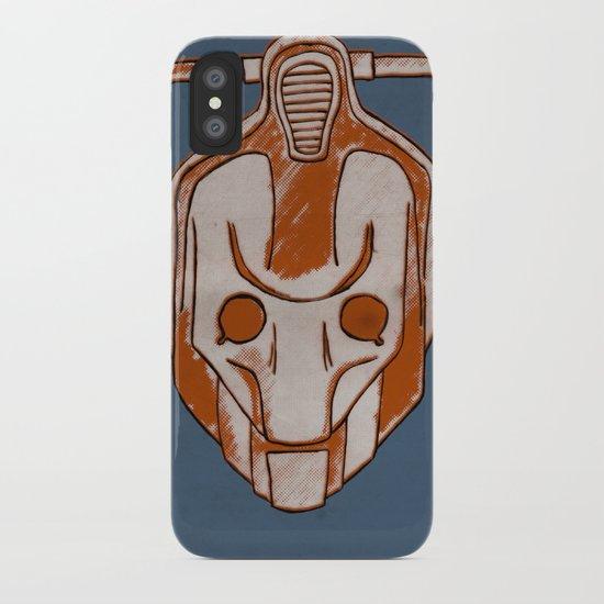 Warholian Cybermen (Doctor Who) iPhone Case