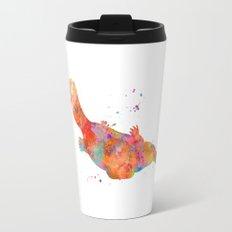 Colorful Platypus Travel Mug
