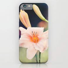 Pink Daylily iPhone 6s Slim Case