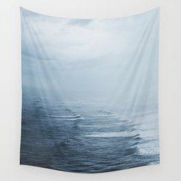Storms over the Pacific Ocean Wall Tapestry