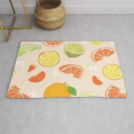 Citrus Fruit Fun Rug