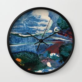 Mini World Environmental Blues 2 Wall Clock