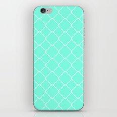 Mint Moroccan iPhone & iPod Skin
