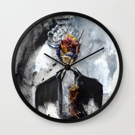 Her Small Dream Wall Clock