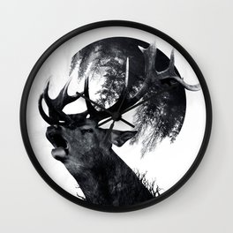 oh my world Wall Clock