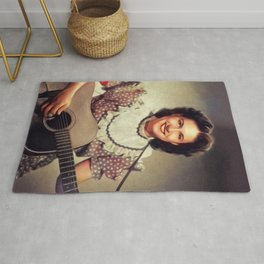 Kitty Wells, Country Legend Rug