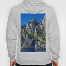 The White Grotto of the island of Capri, Italy off Naples and the Amalfi Coast Hoody