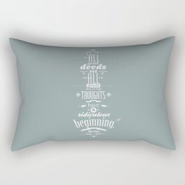 Albert Camus quotes Rectangular Pillow