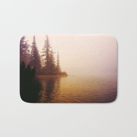 Sunset at Lake Bath Mat