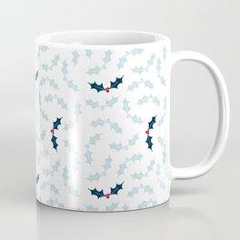 Cool Holly Pattern Coffee Mug