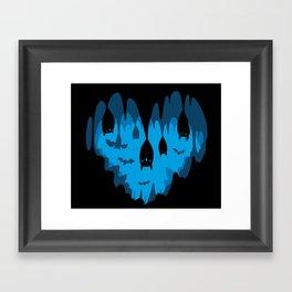 Bats Love Caves Framed Art Print