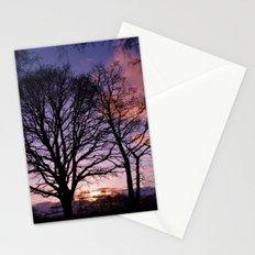 Woodland Edge Sunset Stationery Cards
