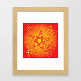 Twinkle stars Framed Art Print