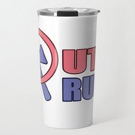 Putin Trump allusion Russia USA gift Travel Mug