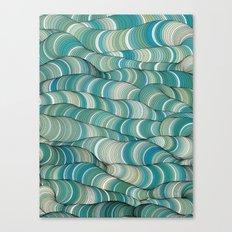 Wave Maker Canvas Print
