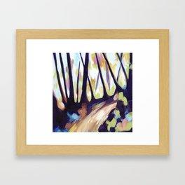Mount Davidson - Purple Framed Art Print