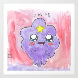 LUMPS Art Print