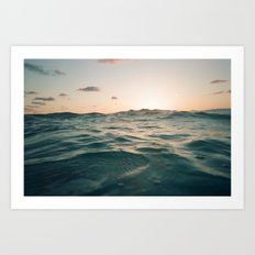 Siesta Sun Art Print