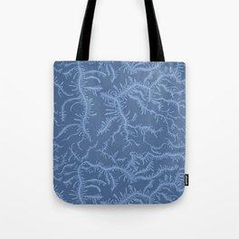 Ferning - Blue Tote Bag