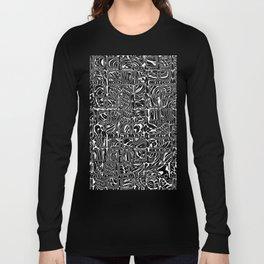 Abstract MAGA Typography Long Sleeve T-shirt