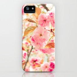 Pink Blooms (2) iPhone Case