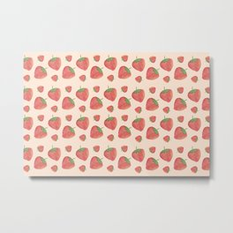 Strawberry field forever Metal Print