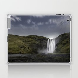 Skógafoss Waterfall Iceland Laptop & iPad Skin