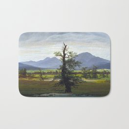 Village Landscape in Morning Light (The Lone Tree), 1822 Bath Mat