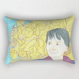Aung San Suu Kyi Rectangular Pillow
