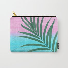 Dreamy Ocean View #1 #palm #pink #aqua #decor #art #society6 Carry-All Pouch