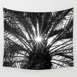 Palm Sun Burst! Wall Tapestry