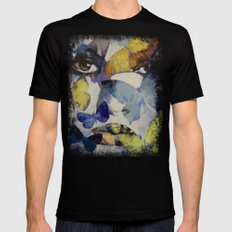 Butterflies Mens Fitted Tee Black MEDIUM