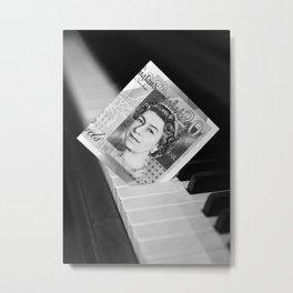 Piano keys £ 20 Metal Print