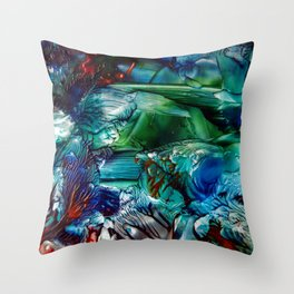CoralReef Throw Pillow