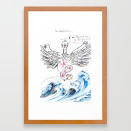 The Pacific Curse Framed Art Print