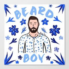 Beard Boy: Karl Canvas Print
