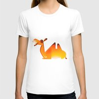 camel T-shirts featuring Camel by Sukanto Debnath