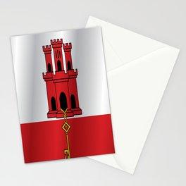 Flag of Gibraltar Stationery Cards