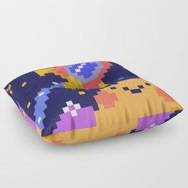 pixel universe Floor Pillow
