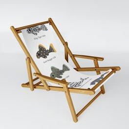 Pleco! - white Sling Chair