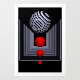 3D for your home -7- Art Print