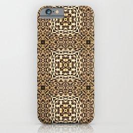 Leopard Pattern by Lika Ramati iPhone Case