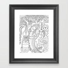 Wooloo Framed Art Print