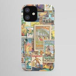 Vintage Hawaii iPhone Case
