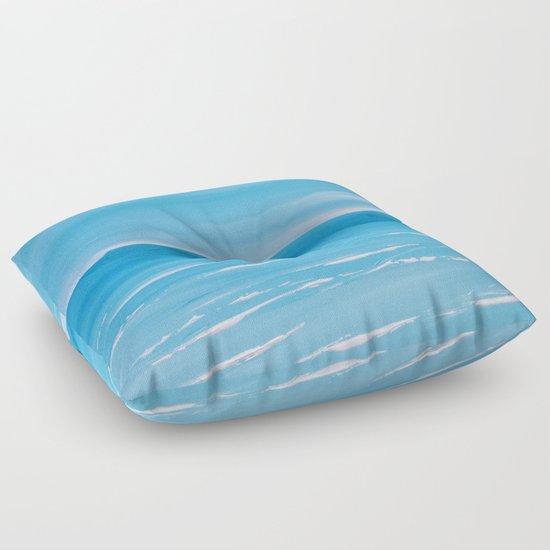 Coastal Front Floor Pillow