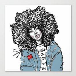 #STUKGIRL ALIANA Canvas Print