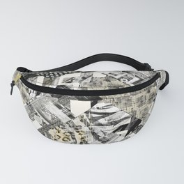 Exotic patchwork. Fanny Pack
