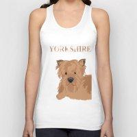 yorkie Tank Tops featuring Yorkshire Terrier Dog Yorkie by ialbert